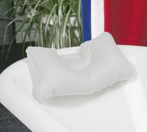 Dr Winkler Badewannenkissen aufblasbar mit 2 Saugnäpfen 43 x 23 cm